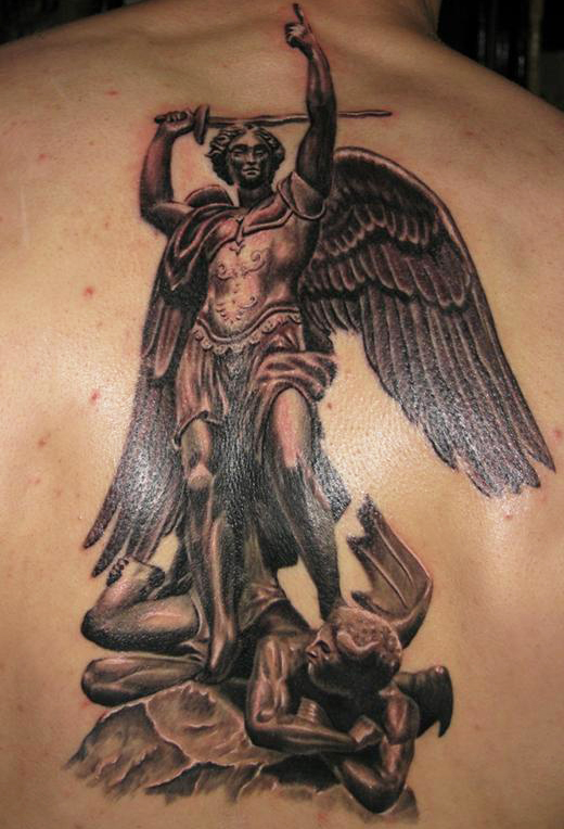 saint tattoo