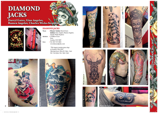 Diamond Jacks tattoo parlour